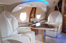 Luxury Airplane Interiors