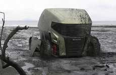 Futuristic All-Terrain Vehicles