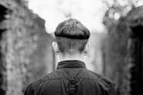 Shaved Sacrilegious Symbols - Photographer Josh Greet Highlights the Punk Scene