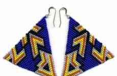 Vivid Hand-Beaded Jewelry - Broken Fab Creates One-of-a-Kind Patterned Accessories