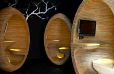 Wooden Egg Workspaces