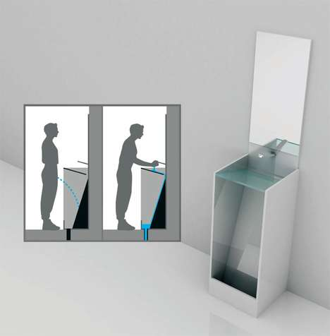 Multifunctional Eco Urinals
