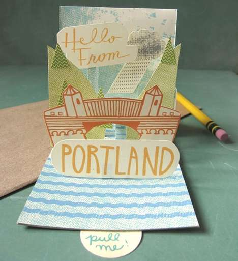 Pop-Up Postcards