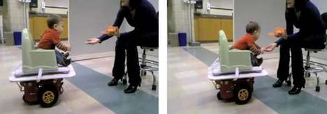 The Wii Balance Board-Controlled Robot Helps Disabled Children Move