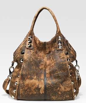 Exotically Distressed Purses