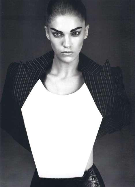 Geometric Lady Suits