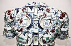 Ceramic Clothing - Actual Porcelain Shirt by Li Xiaofeng Created for Lacoste (UPDATE)
