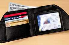 Reversed Wallets - The Front Pocket Wallet Removes Your Billfold from Your Backside