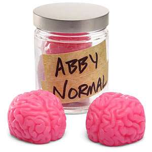 Brain Matter Cleaning Devices - The Abby Normal Soaps in a Jar are for Smart Cleaning