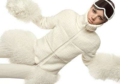 Snow Bunny Fashion - The Freja Beha Erichsen for Moncler Gamme Rouge