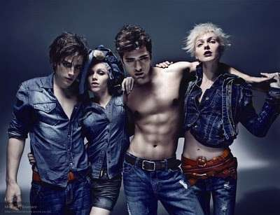 Dangerously Seductive Denim - The Mjeans Fall/Winter Ad Campaign is Sizzling Hot