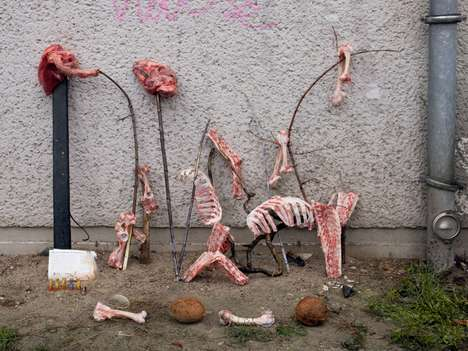 Carcass Art Installments - The Work of Artist Rachel De Joode May Creep You Out