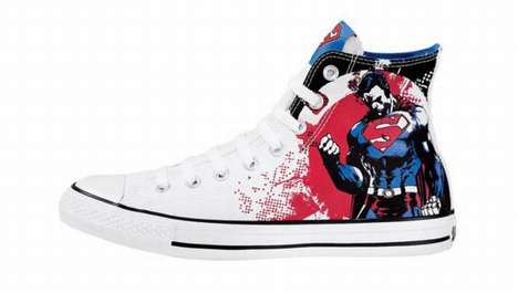 Comic-Inspired Sneakers