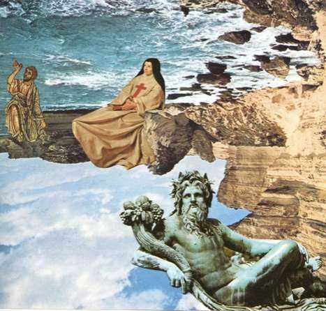 Surreal Story-Telling Collages - Artist Mark Boellaard Uses a Simple Approach to Art