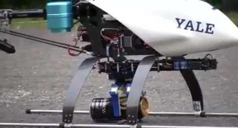 Flying Robotic Hands