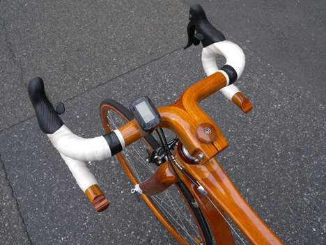 These Mahogany Bikes by Sanomagic Took Three Years to Make