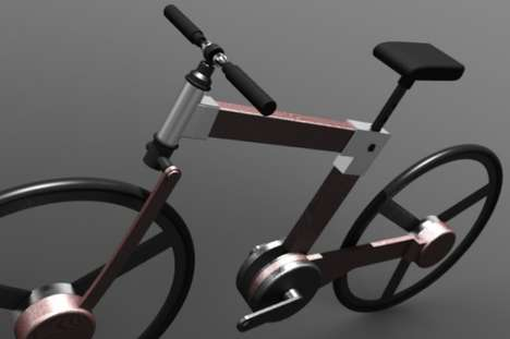 Automatic Rifle Bikes - This Bryan Walsh Avtomat Hydro-Static Bicycle is a Dangerous Ride