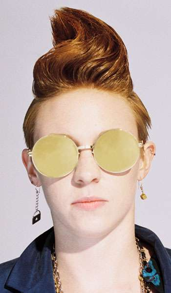 Androgynous Hipster Style - 'La Roux' in Paper Magazine's Issue Goes Boyish