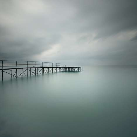 Unearthly Water Pictorials - 'Waterscapes' by Akos Major Feature Intense Aqua Imagery