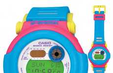 Electrifying Timepieces - G-Shock's Neon, Slimmed-Down Watches Offer Bright Style