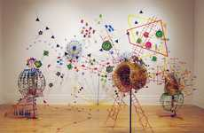 Doodle Sculptures - Nathalie Miebach's Sculptures Are A Physical Representation Of Meteorology