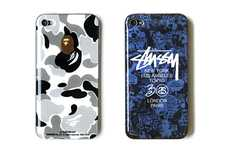 Urbantastic Phone Covers - Stussy and Zozotown Pair Up to Design Interesting iPhone Cases