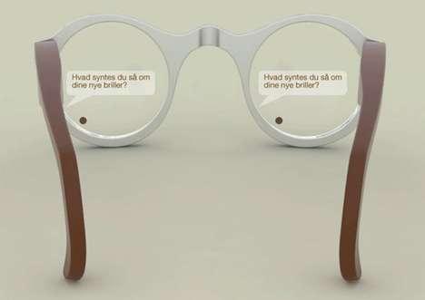 Ocular Text Lenses