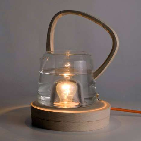 Lightbulb-Heated Kettles