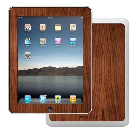 Wood Grain Tablet Covers