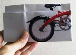 Foldable Bike Ads - Foldable Rodalink Bicycles Get an Interactive Campaign