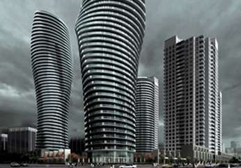 Curvaceous Condos - The 'Absolute Towers' Project Impersonates Marilyn Monroe