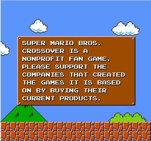 Vintage Gamer Tributes : super mario bros crossover