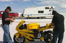 Screaming Fast 2-Wheeled EVs - Lightning Electric Motorcycle Sets 173 MPH Land Speed Record