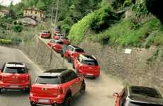 Multiplying Car Commercials - The MINI Countryman 'Flow' Commercial Tours Italy