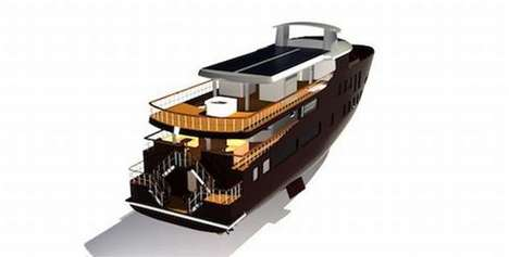 Green Luxury Yachts - The Superyacht 006 Aspires to Be the James Bond of Eco Boats