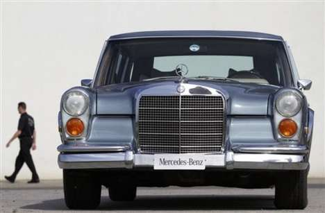 Music Icon Auto Sales - Elvis Presley's Mercedes Benz 600 is Now Up for Grabs