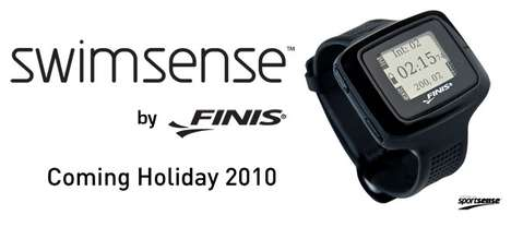 Performance-Tracking Swim Accessories - The Swimsense Watch Monitors Your Aquatic Workout