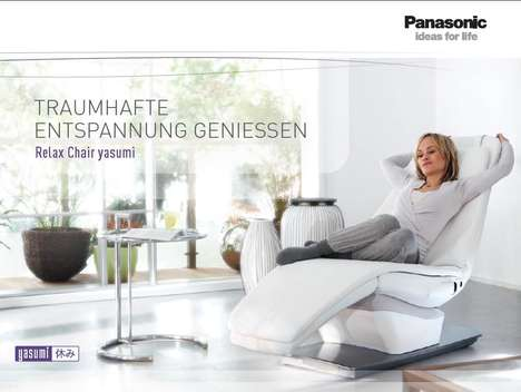 Self-Rocking Recliners - The Panasonic Relax Chair Yasumi Will Make You Sleep like a Baby