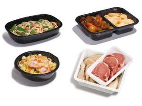 Conscientious Plastic Food Trays