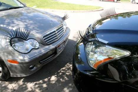 Car Lashes - Autos are Given an Ultra-Girly Touch