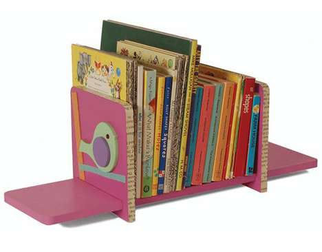 Adjustable Kiddie Bookshelves