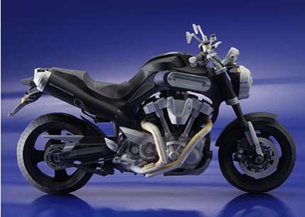 Papercraft Motorcycles