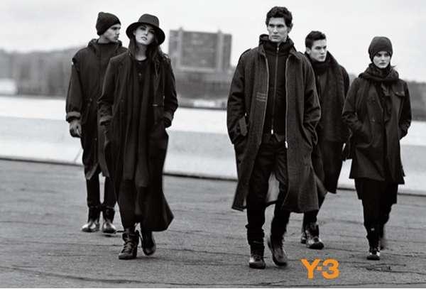 Rooftop Ad Campaigns Adidas Y 3 Fall Winter 2010