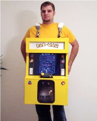 Coin-Operated Costumes - The Playable Pac-Man Costume is Sure to be a Hit This Halloween