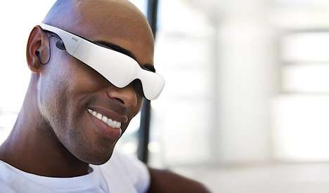 Movie Screen Glasses - The Cinemizer Head-Mounted Display is Your Sleek Pocket-Sized Theater