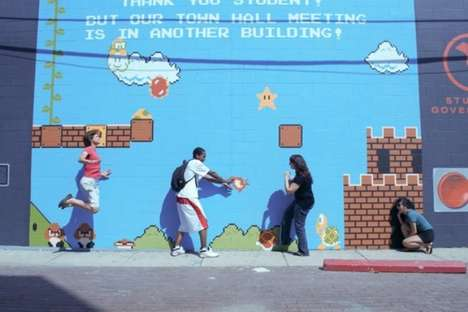 Playable Video Game Murals