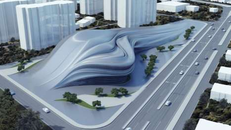 Liquid-Like Art Centers - The Izmir Opera House Proposal from Nuvist Architecture & Design