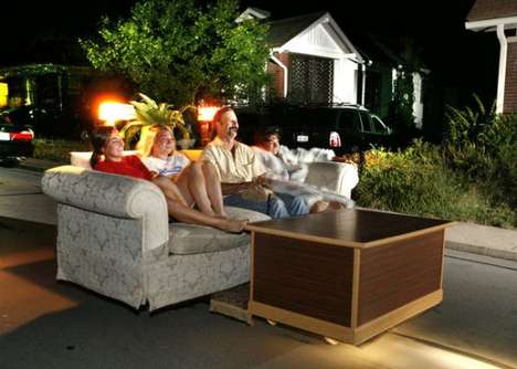 Fast Furniture - The Couch-And-Coffee Table Car Can Go Up to 10 Mph