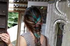 Tie-Dyed Hair Braids