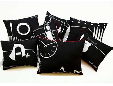 Metropolitan-Inspired Cushions